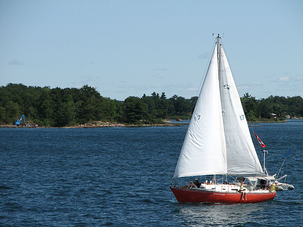 Canada Ontario Photos :: 1000 Islands :: Ontario. 1000 Islands. Boat