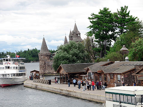 Canada Ontario Photos :: 1000 Islands :: 1000 Islands. Boldt Castle