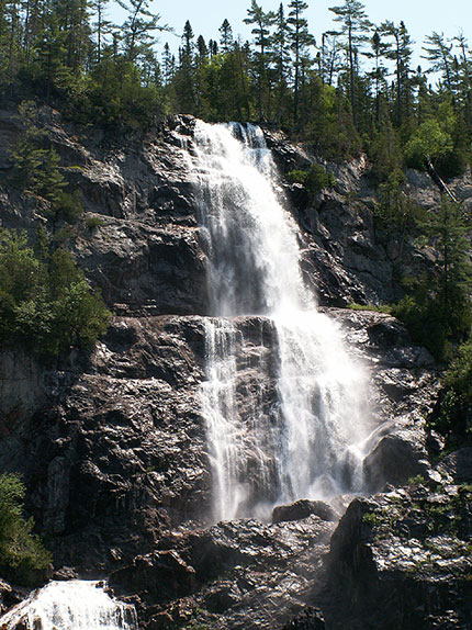 Canada Ontario Photos :: Waterfalls :: Ontario. Agawa Canyon
