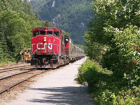Canada Ontario Photos :: AlexM :: Ontario. Train in Agawa Canyon