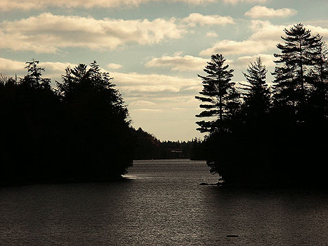 Canada Ontario Photos :: Algonquin Park :: One of the Lakes in Algonquin Park