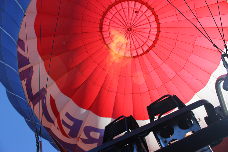 Canada Ontario Photos :: Bala :: Bala -a hot air baloon
