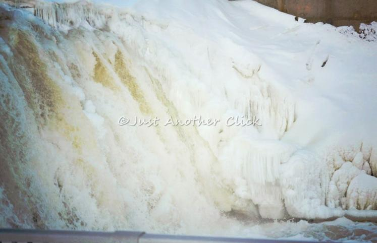 Canada Ontario Photos :: Theresa-Nelson :: Belleville. Dam last winter