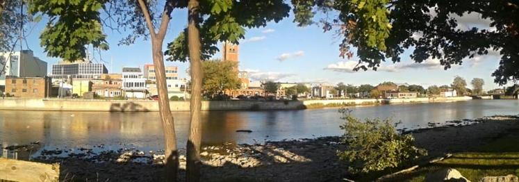 Canada Ontario Photos :: Belleville :: Belleville. Panoramic Downtown view