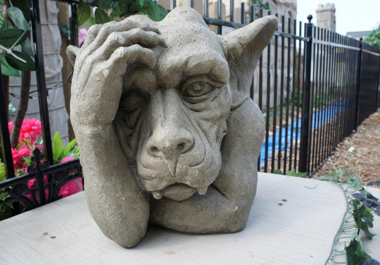 Canada Ontario Photos :: Blue Mountain :: Cement Gargoyle Blue Mountain