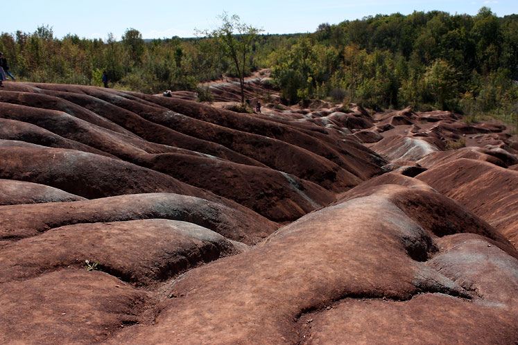 Canada Ontario Photos :: Nature :: Caledon Badlands