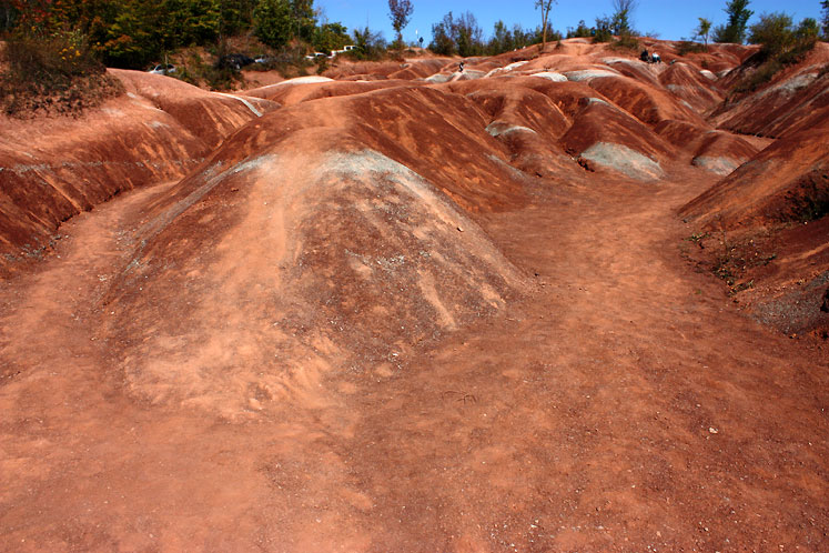 Canada Ontario Photos :: Caledon - Cheltenham Badlands :: Caledon Badlands