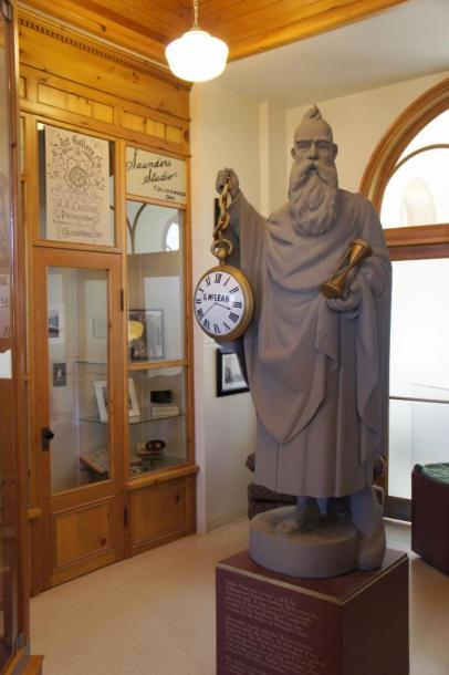 Canada Ontario Photos :: Collingwood :: Father Time in Station Museum Collingwood