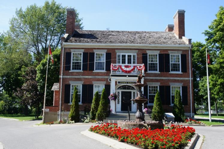 Canada Ontario Photos :: Gananoque :: Gananoque Town Hall