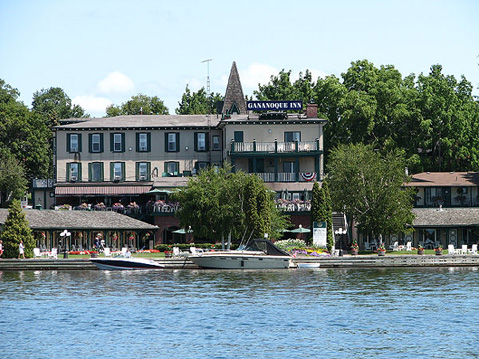Canada Ontario Photos :: Gananoque :: Gananoque. View form St.Lawrence River