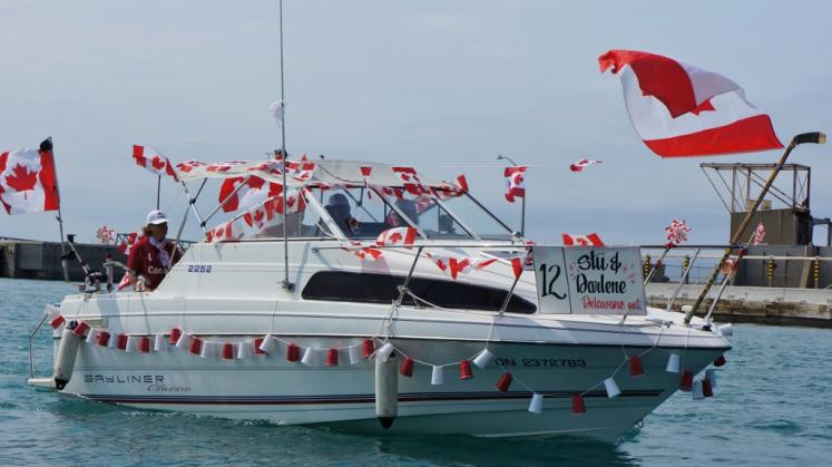 Canada Ontario Photos :: Goderich :: Canada Day Boat Parade in Goderich