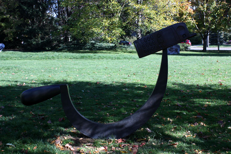 Canada Ontario Photos :: Guelph :: A sculpture at the University of Guelph