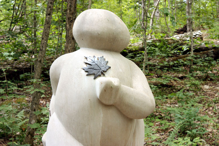 Canada Ontario Photos :: Haliburton :: Ontario. Haliburton. Sculpture forest