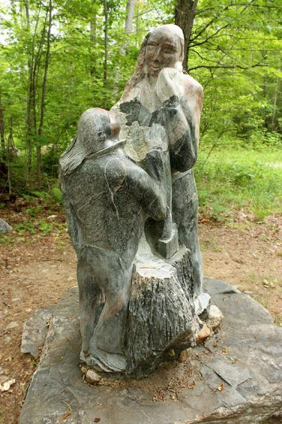 Canada Ontario Photos :: Haliburton :: Haliburton. Sculpture forest