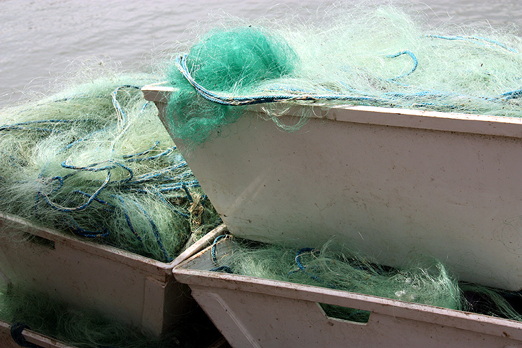 Canada Ontario Photos :: Kincardine :: Kinkardine. Fishing nets