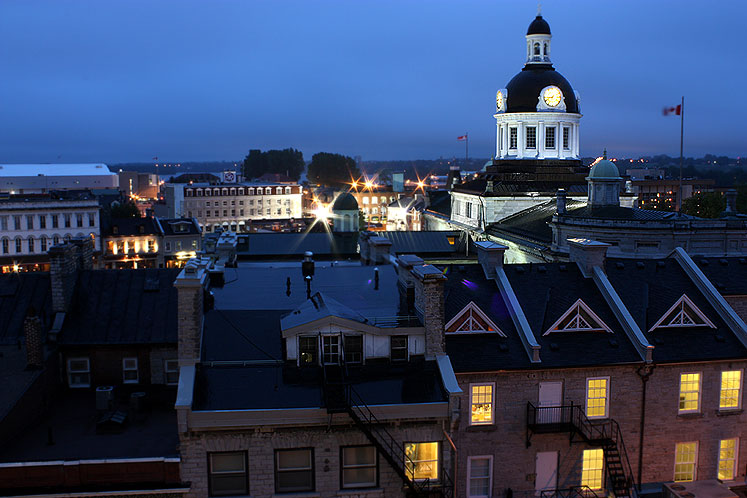 Canada Ontario Photos :: Kingston :: Ontario. Kingston at night