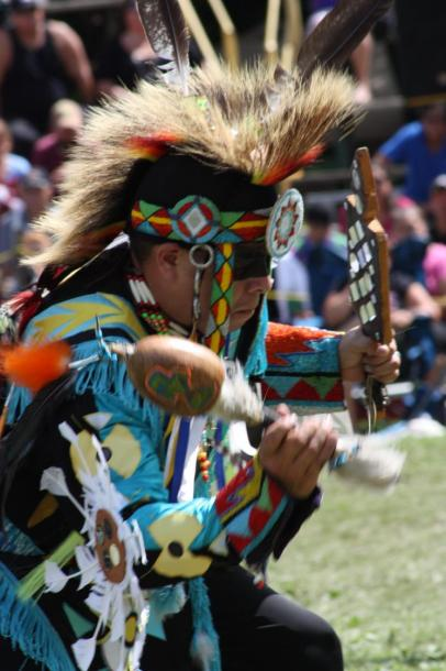 Canada Ontario Photos :: black-elk :: chicken dancer Jay Lomax