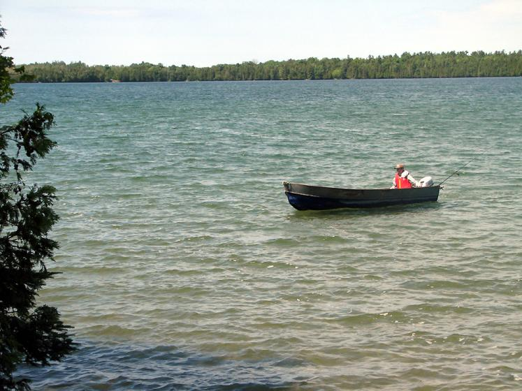 Canada Ontario Photos :: Manitoulin Island :: Manitoulin Island. Back from fishing