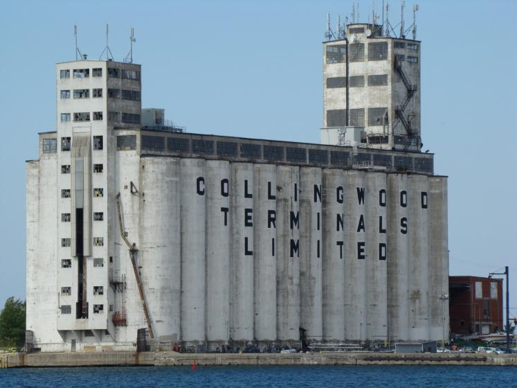 Canada Ontario Photos :: Collingwood :: Collingwood grain elevators