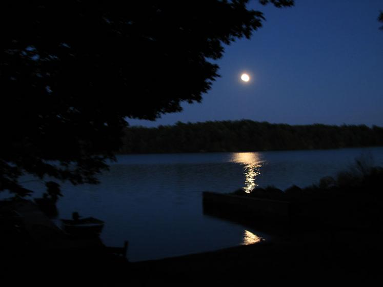 Canada Ontario Photos :: Cranberry Lake :: Ontario. Cranberry Lake at Night