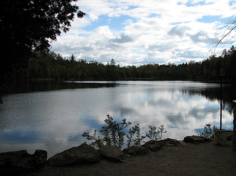 Canada Ontario Photos :: Crawford Lake Park :: Ontario. Evening on Crawford Lake