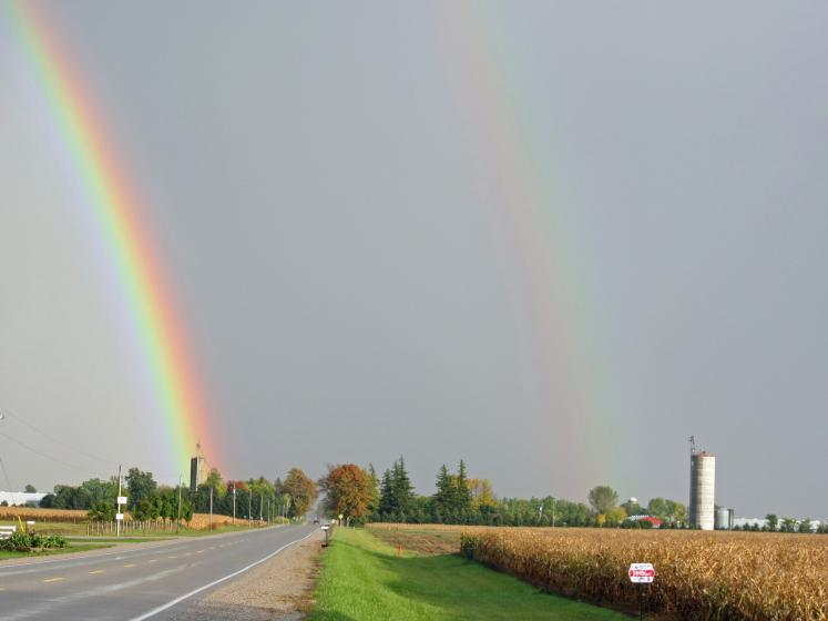 Canada Ontario Photos :: Nanc441 :: Ontario. A Double Rainbow