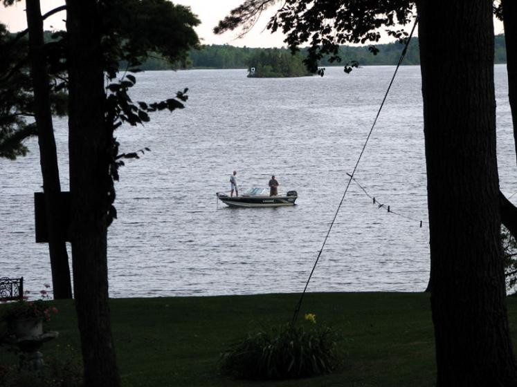 Canada Ontario Photos :: Cranberry Lake :: Ontario. View on Cranberry Lake