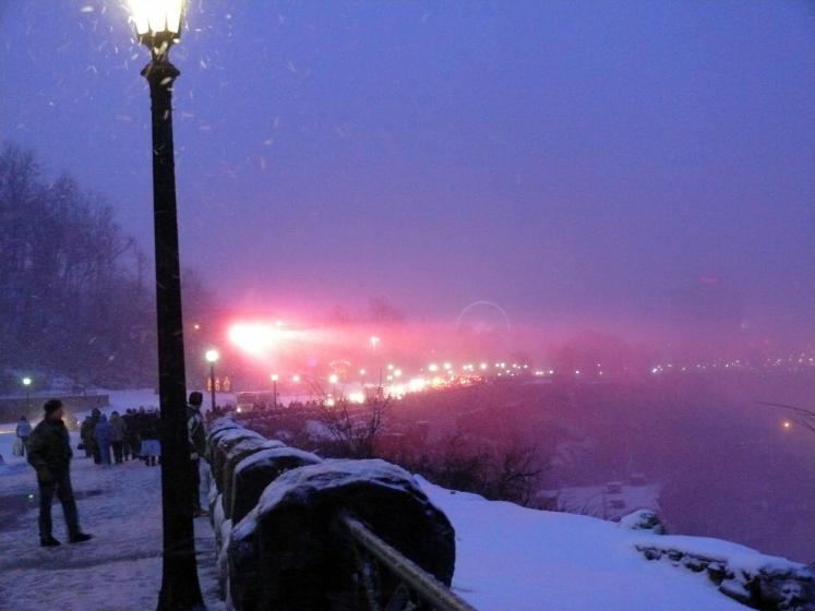 Canada Ontario Photos :: Валентина :: A New Year´s blister at Niagara Falls