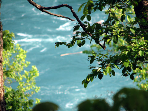 Canada Ontario Photos :: Niagara Falls :: Niagara Falls. Above the Niagara river