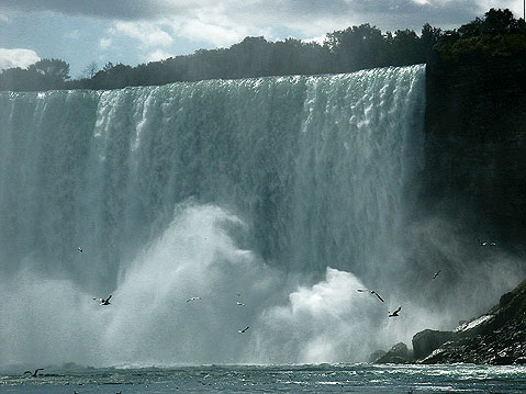 Canada Ontario Photos :: Niagara Falls :: Niagara Falls. Part of the Horseshoe