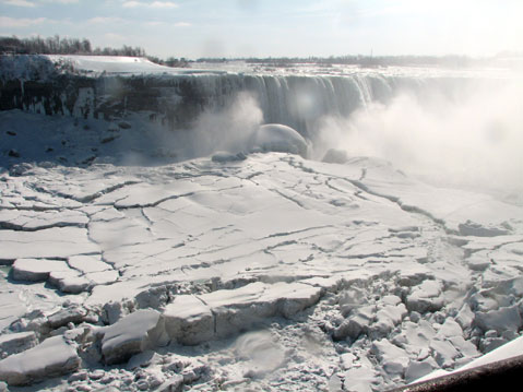 Canada Ontario Photos :: Waterfalls :: Niagara Falls. Winter 2008