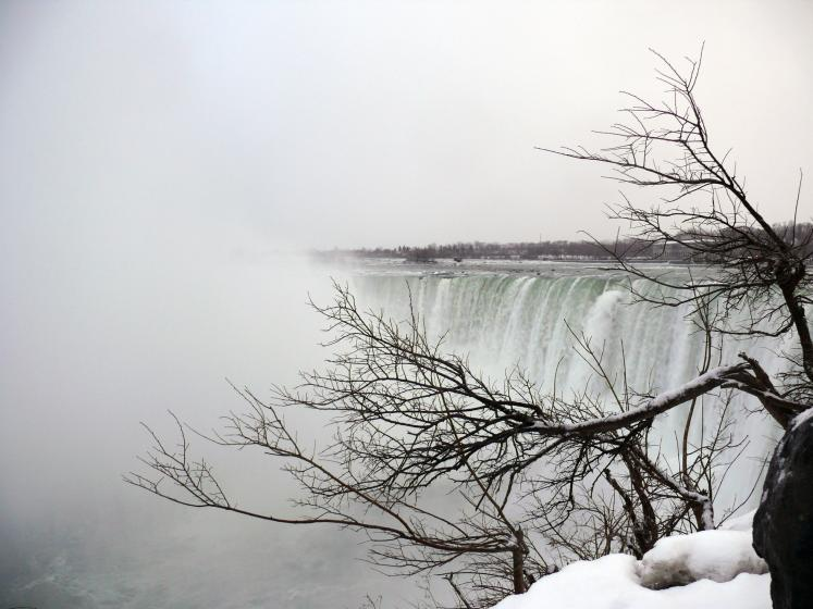 Canada Ontario Photos :: Niagara Falls :: Niagara Falls in January