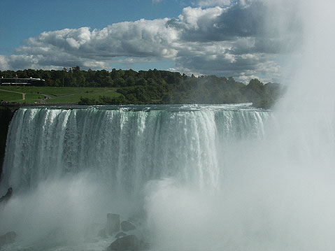 Canada Ontario Photos :: RomKri :: View of American Niagara Falls