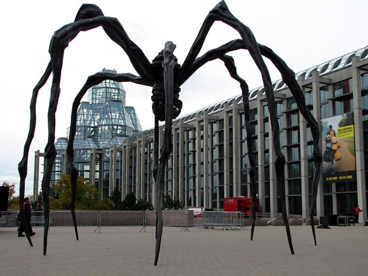 Canada Ontario Photos :: Landmarks :: Ottawa. Maman and Art Gallery