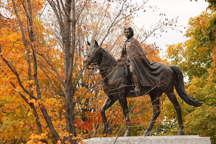 Canada Ontario Photos :: Fall :: Ottawa. Queen ELizabeth