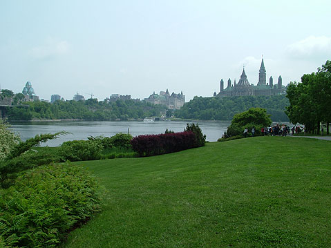 Canada Ontario Photos :: MarkJ :: Ottawa. View on Parliament Hill from Distance