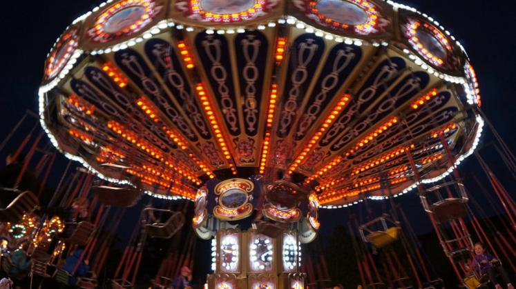 Canada Ontario Photos :: Stratford :: Stratford Fall Fair at night