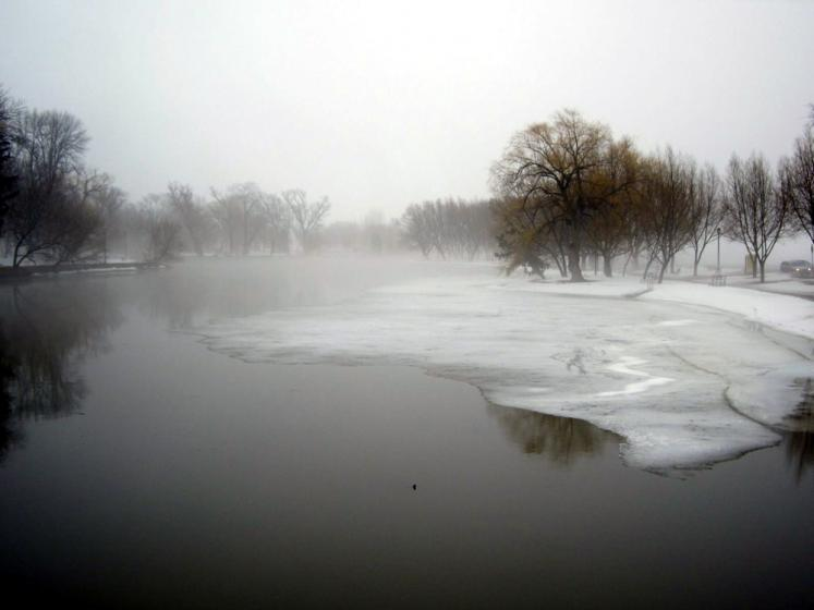 Canada Ontario Photos :: Polin :: Stratford - foggy day