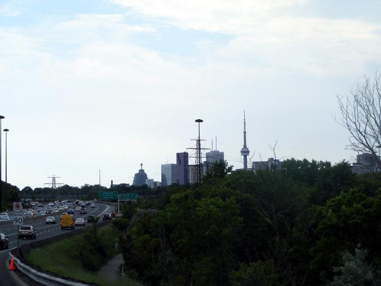 Canada Ontario Photos :: Ron Hadas :: Toronto. Don Valley Parkway