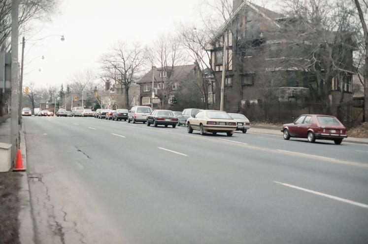 Canada Ontario Photos :: Toronto :: Mount Pleasant Road north. Took this photo in 1987