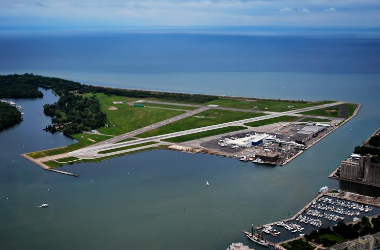 Canada Ontario Photos :: Alex-Yakon :: Toronto Islands Airport