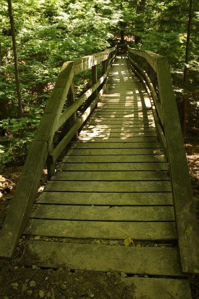 Canada Ontario Photos :: Vaughan - Kortright Conservation Area :: Kortright Conservation Area - a walking path
