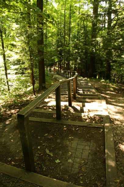 Canada Ontario Photos :: Vaughan - Kortright Conservation Area :: Kortright Conservation Area - down the path