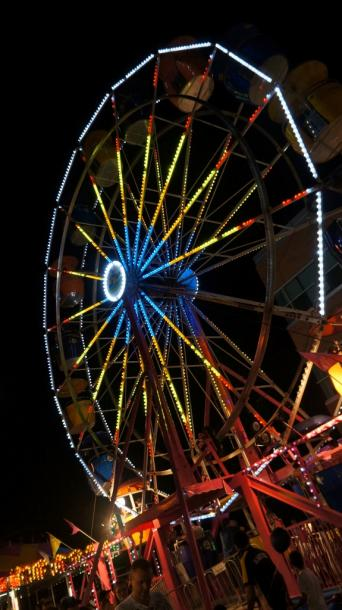 Canada Ontario Photos :: Waterloo :: Ferris Wheel  at Buskers downtown Waterloo