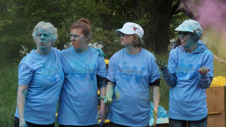 Canada Ontario Photos :: 194Lynn :: Running in Colour 2017 Volunteers Waterloo