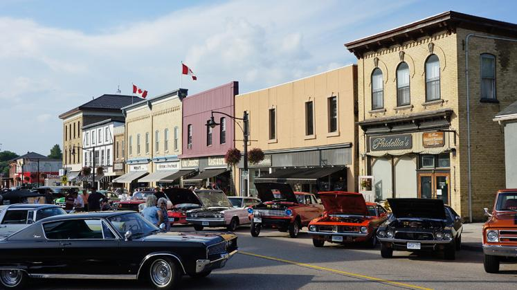 Canada Ontario Photos :: New Hamburg :: Cruise Night downtown New Hamburg